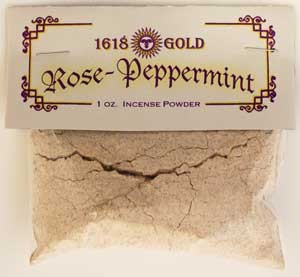 White Rose Peppermint Incense