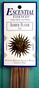 Amber Flame stick incense