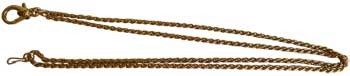 "30"" Loupe chain goldtone"