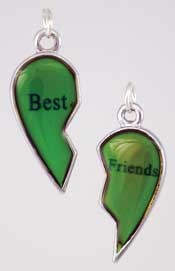 Best Friends Mood pendant