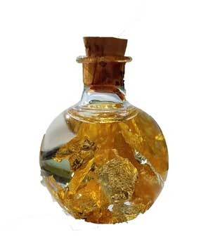 Gold Flakes bottle