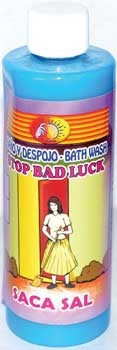 8oz Stop Bad Luck wash