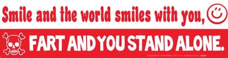 Smile and the World
