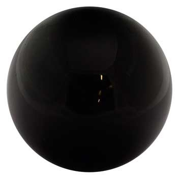 Black Obsidian crystal ball 50mm