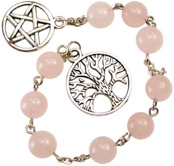 Rose Quartz prayer beads