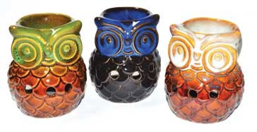 "3 3/4"" Owl oil diffuser (set of 3)"